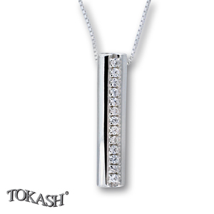 Silver pendants with CZ - 174688