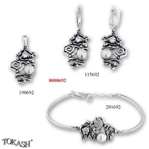 New models silver jewеllery - 8000692