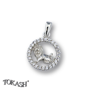 Silver pendants with CZ - 174698