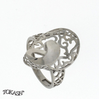 Silver ring without stones 1486084