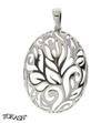 silver pendant 188080