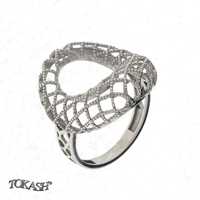 Silver ring without stones 1486079
