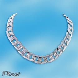 Silver necklace 700064