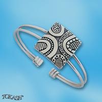 Silver bracelets - bangles - 200422