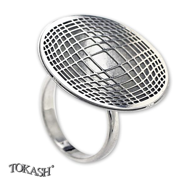 Silver ring without stones 1486134