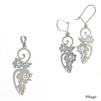 New models silver jewеllery - 8600022