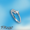 Silver rings without CZ - Silver ring stones - 1574707