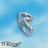 Silver rings without CZ - Silver ring stones - 1574087