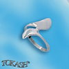 Silver rings without CZ - Silver ring stones - 1574803