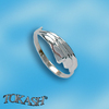 Silver rings without CZ - Silver ring stones - 1574109
