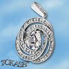 Silver pendants with CZ - 173985
