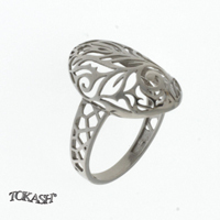 Silver ring without stones 1486080