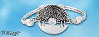 Silver bracelets - bangles - 200830.1