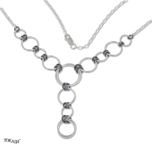 Silver necklaces - 407059
