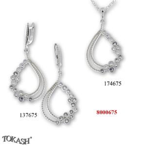 New models silver jewеllery - 8000675