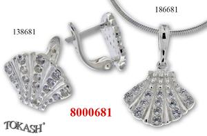 New models silver jewеllery - 8000681