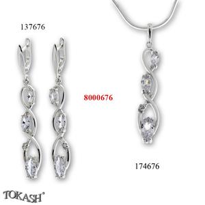 New models silver jewеllery - 8000676