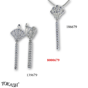 New models silver jewеllery - 8000679