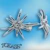 Silver Earings stones 132323