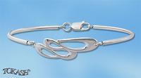 Silver bracelets - bangles - 200355