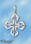 Silver crosses - 178561