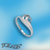 Silver rings without CZ - Silver ring stones - 1574100