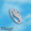 Silver rings without CZ - Silver ring stones - 1574111