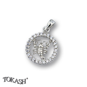 Silver pendants with CZ - 174697