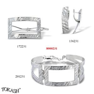 New models silver jewеllery - 8000231