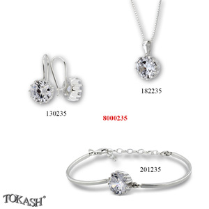 New models silver jewеllery - 8000235