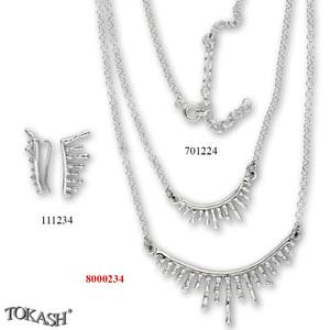 New models silver jewеllery - 8000234