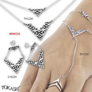 New models silver jewеllery - 8000226