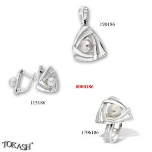 New models silver jewеllery - 8000186