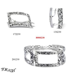 New models silver jewеllery - 8000230