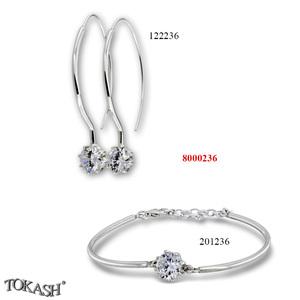 New models silver jewеllery - 8000236