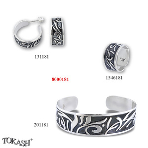 New models silver jewеllery - 8000181