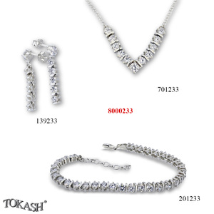 New models silver jewеllery - 8000233