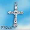 Silver crosses - 179034
