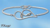 Silver bracelets - bangles - 200342