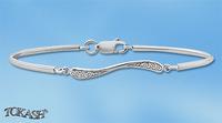 Silver bracelets - bangles - 200173